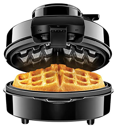 Chefman Waffle Maker w/No Overflow Design, Round Iron for Mess-Free Breakfast Best...