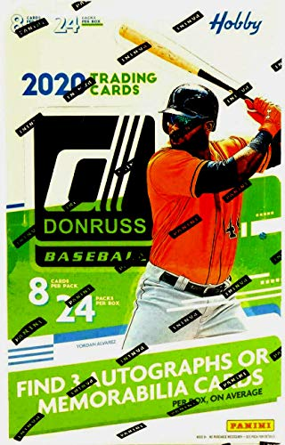 2020 Panini Donruss Baseball HOBBY box (24 pks/bx)