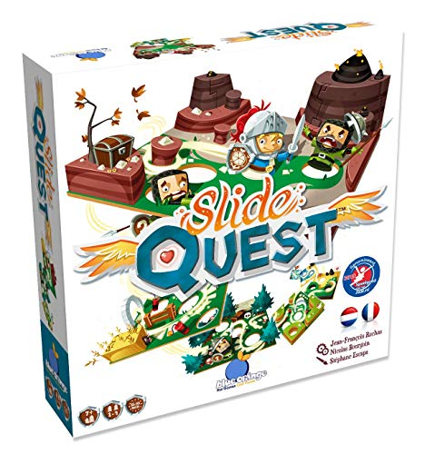 Slide Quest - Bordspel - Help de Ridder met Obstakels en Hindernissen - Voor de hele Familie - Taal: Nederlands