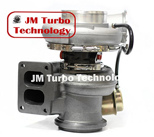 JM Turbo Compatible For Detroit Series 60 12.7L Turbocharger with Wastegate Actuator Brand New Turbo