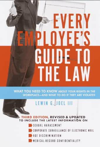 Every Employee's Guide to the Law (English Edition)