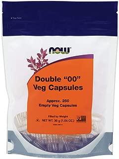 NOW Supplements, Empty Capsules, Vegetarian, Double