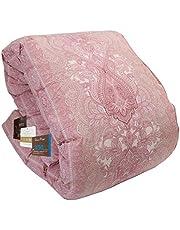 昭和西川 掛けふとん ピンク シングル 信頼の羽毛布団 暖ふわ350DP ダウン85% Amazon企画WDD85