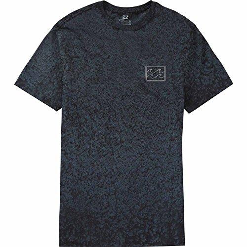 BILLABONG Hombres de a la Deriva de Manga Corta Camiseta - Azul -