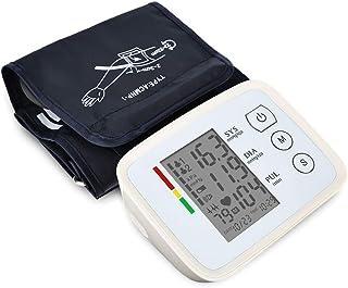 Monitor de presión arterial de muñeca, brazalete de presión arterial con carga USB, brazalete digital BP Brazalete de presión arterial Transmisión de voz: detector preciso, ajustable del brazalete