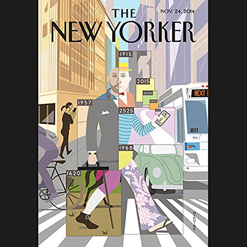 The New Yorker, November 24th 2014 (Steve Coll, Ben McGrath, George Packer) audiobook cover art
