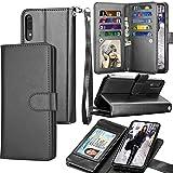 Galaxy A50 Case, Galaxy A50 Wallet Case, Luxury Cash Credit Card...