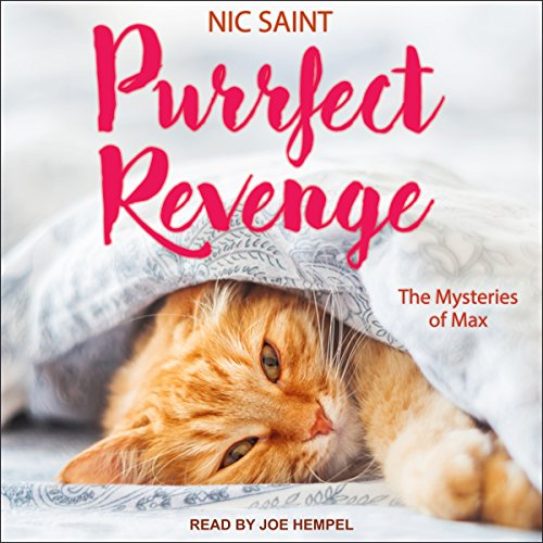 Purrfect Revenge audiobook cover art