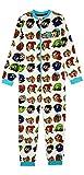 Teen Titans Go! Pijama Niño de Una Pieza, Pijamas Enteros de Superheroes, Merchandising Oficial Regalos Originales para Niños Niñas Adolescentes 4-14 Años (11-12 años)