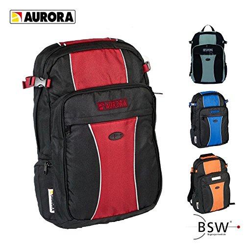AURORA Archery - Rucksack - schwarz/blau