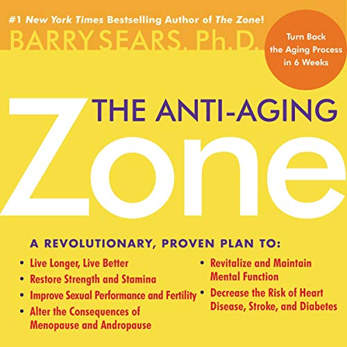 The Anti-Aging Zone audiobook cover art