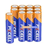 PKCELL AAA Alkaline Battery 1.5V LR03 Long-Lasting Alkaline Battery (12 Count)