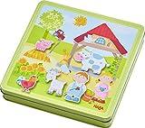 Haba 301951 - Magnetspiel-Box Peters und Paulines Bauernhof, abwechslungsreiches Magnetpuzzle rund...