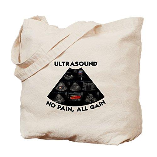 CafePress–Ultraschall _ T–Leinwand Natur Tasche, Reinigungstuch Einkaufstasche Tote S khaki