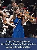 Janine Jansen Daniele Gatti y la Royal Concertgebouw Orchestra: Bruch Mahler