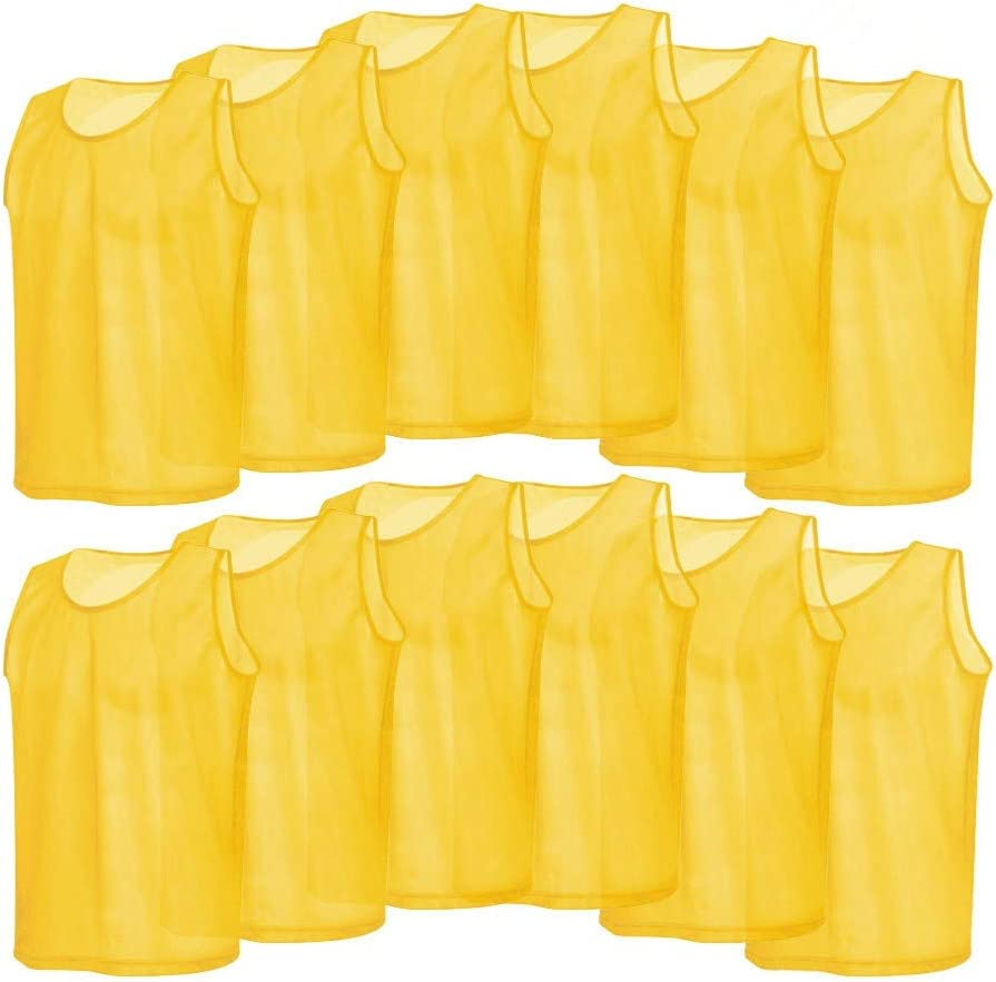 Popular shop is the lowest price challenge Scrimmage Vest 12 Pack Vests Training Mesh Breathable Cheap super special price