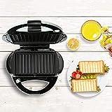 ZOUSHUAIDEDIAN Sandwichera 3-en-1 Wafflera, 650W Prensa for Panini Grill con 3 Desmontables antiadherentes Placas, frío al Tacto manija, fácil de Limpiar