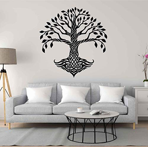 tree of life wall decals for living room celtic tree of life wall decal tree of life wall decor tree of life wall art large wall stickers ik3339