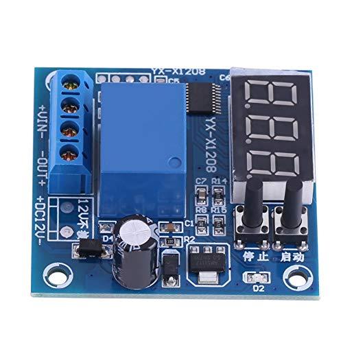Módulo de placa de protección de bajo voltaje, placa de protección de batería de almacenamiento de 12 V, módulo de controlador de encendido/apagado automático de bajo voltaje