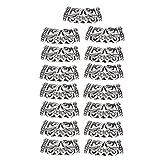 HANJIAONI40 piezas de cuentas de tubo de pelo para barba vikinga de estilo nórdico, accesorios para el pelo, Plateado, 40.00[set de ]