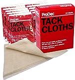 ProDec PTR10P Tack Cloths, Cream, Set of 10 Pieces