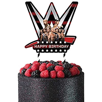 wwe party supplies birthday