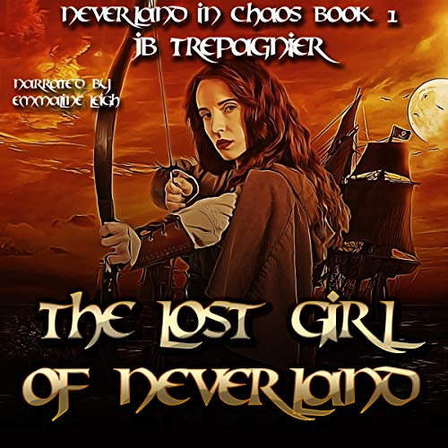 The Lost Girl of Neverland (A Reverse Harem Romance) audiobook cover art