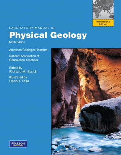 Laboratory Manual in Physical Geology: International Edition