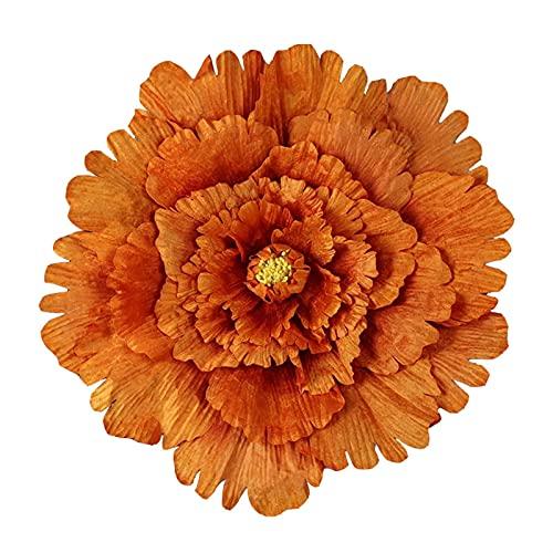 SJHQ Flor Preservada 40/50/60/80 cm Flores Artificiales Peony Fondo de Boda Fondo Decorativo Flor de Ramas de la Pared de la Pared para la decoración del hogar Flor Artificial