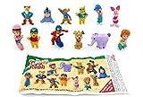 Zaini - Set di statuette di Winnie, Tigre e Pooh + BPZ