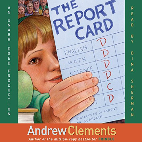 The Report Card audiobook cover art