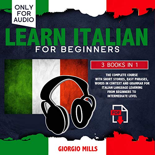Learn Italian for Beginners: 3 Books in 1 Titelbild