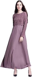 Robe Kleid Muslimischer Islam Strickjacke Lang Kafan Dame 1 Stück Dubai Stil