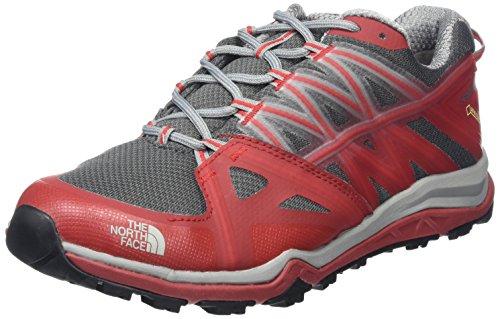 The North Face M HH Fp LTE II GTX, Zapatillas de Senderismo Hombre, Varios Colores (Griffin Grey/TNF Red), 43 EU