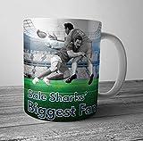 Sale Sharks Biggest Fan Rugby taza/taza – regalo de cumpleaños