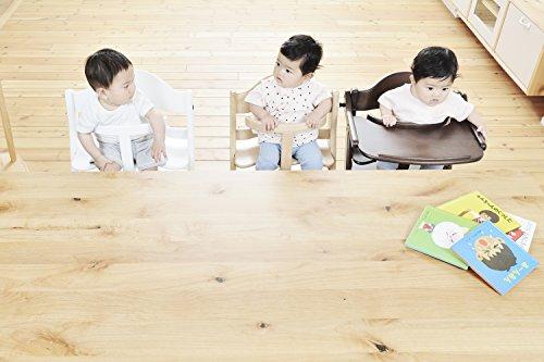 大和屋すくすくチェアプラステーブル付ナチュラル53x55.5x80.5センチメートル(x1)7か月~