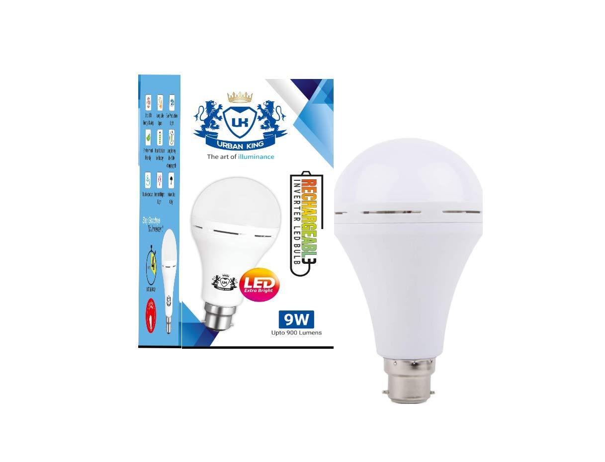 Urban king 9W b22d LED White Bulb, Pack of 1