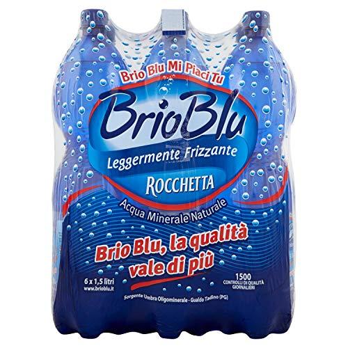 Brio Blu Acqua Minerale Naturale, 6 x 1.5L