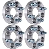 ECCPP 4X 4x100mm Wheel Spacers 4 lug 1' (25mm) 4x100 to 4x100 60.1mm with 12x1.5 Studs