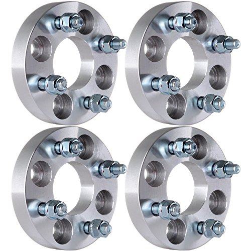ECCPP 4X 4x100mm Wheel Spacers 4 lug 1' (25mm) 4x100 to 4x100 60.1mm with 12x1.5...