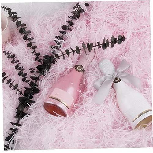 AYRSJCL 10g zerrissenes Papier Geschenk-Box Füller Crinkle Cut Papier Shred Verpackung Geschenk-Beutel Hochzeit Geburtstagsfeierbevorzugungen Dekoration, Rosa