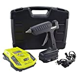 Surebonder Hybrid-120KIT Lithium Cordless/AC Corded Industrial Glue Gun, 120-watt