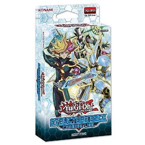 Konami Yu-Gi-Oh! Cyberse Link Decks - 1. Auflage - Deutsche Ausgabe