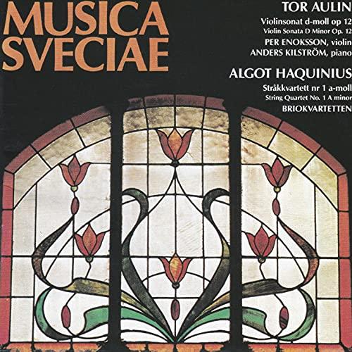 Tor Aulin & Algot Haquinius: Chamber Music