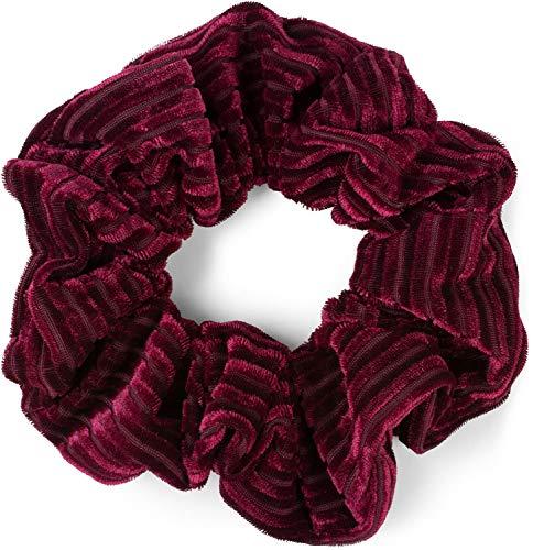 Nouveau Rouge Étroit Velours Tissu Alice Bandeau Fashion