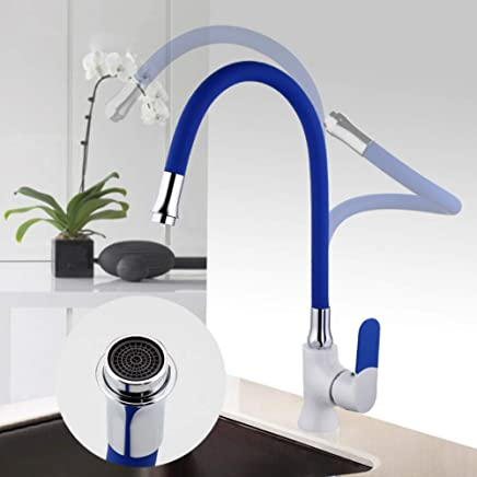 Ayhuir Kitchen Sink bluee Faucet Brass Kitchen Faucet Mixer Water Faucet Single Hole Kitchen Mixer Tap Tap Mixer Single Handle