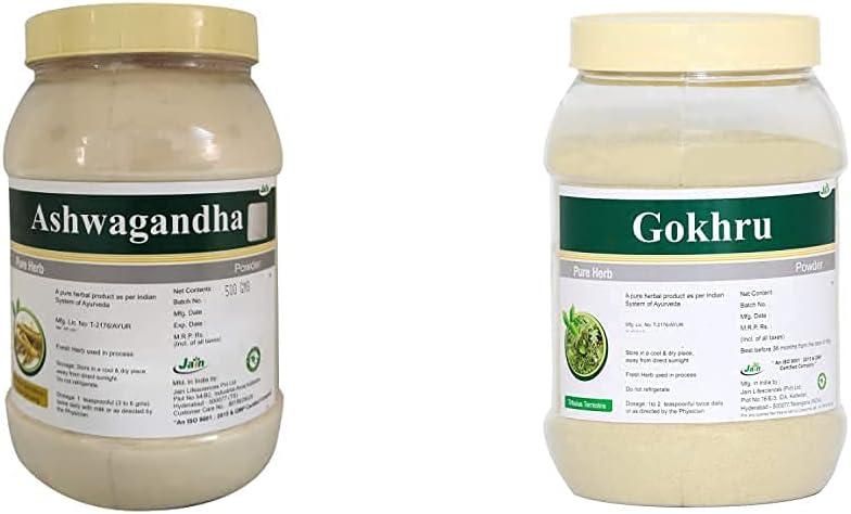 In a popularity Trisha Ashwagandha Withania Somnifera Powder 4 years warranty Jain G 500 Gokh