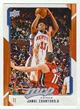 Jamal Crawford (Basketball Card) 2008-09 Upper Deck MVP # 106