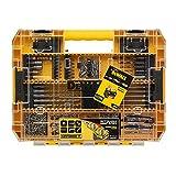 DeWalt DT70763-QZ Toughcase - Juego de brocas de hormigón y metal y puntas de atornillado (85 piezas)