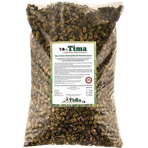 Tima Cornless Kräuterpellets für Meerschweinchen 5 kg (ohne Getreide!)